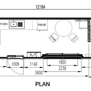 c07_40ft_1bedrrom_single-bunk-bed